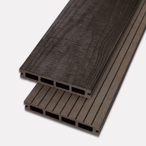 Sàn gỗ nhựa ngoài trời AWood AD150x25 - màu Socola
