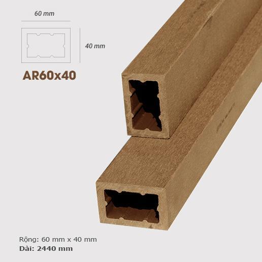 Thanh lam gỗ AWood AR60x40 Wood