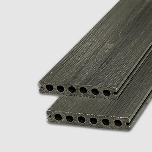 Sàn gỗ ngoài trời AWood AU140x23 Teak G Slivery Grey