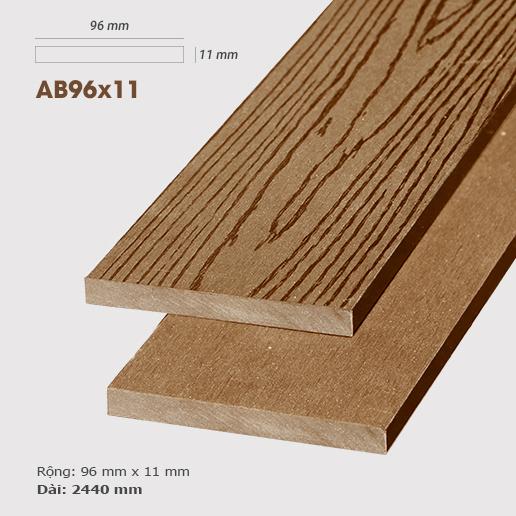 Gỗ nhựa ốp tường AWood AB96x11 Wood
