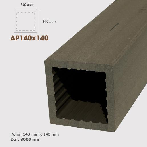 Cột gỗ AWood AP140x140 Coffee