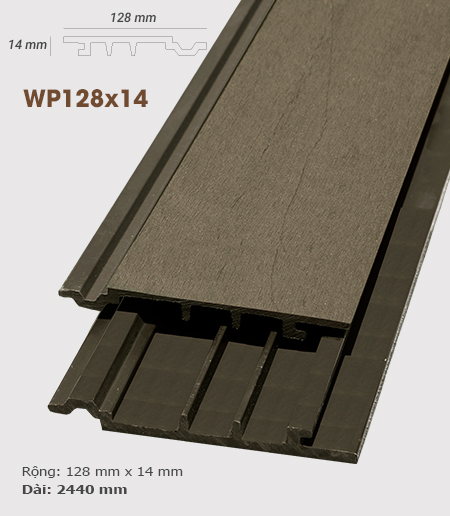 Ốp tường AWood WP128x14 Coffee