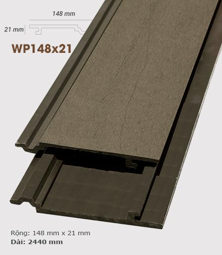 Ốp tường gỗ AWood WP148x21 Coffee