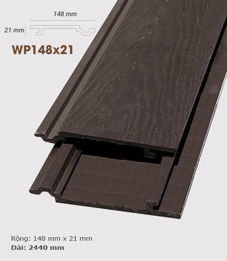 Ốp tường gỗ AWood WP148x21 3D Socola
