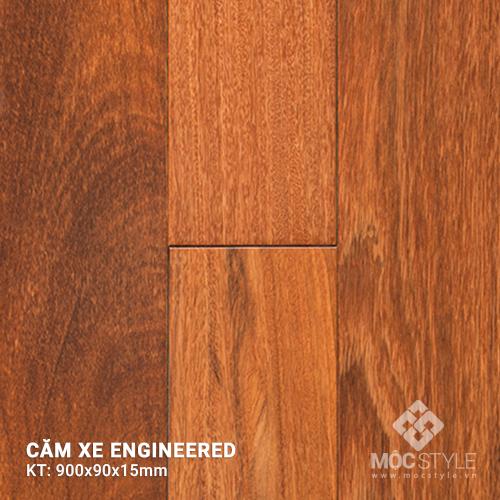 Sàn gỗ kỹ thuật căm xe  15x90x900