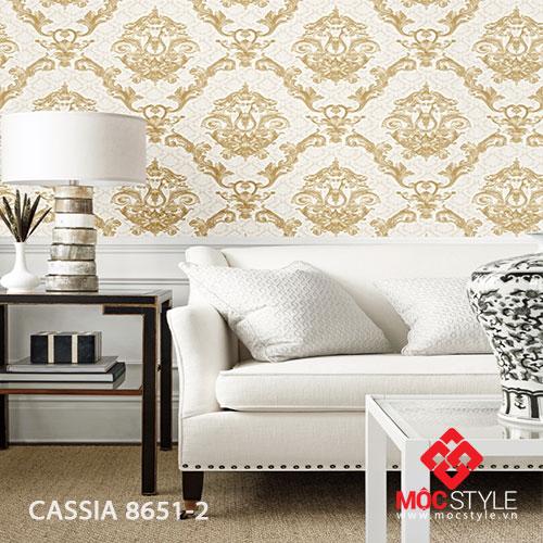 Giấy dán tường Cassia 8651-2