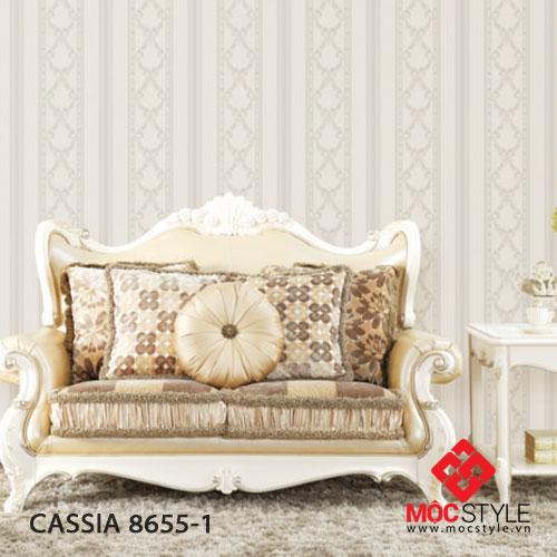 Giấy dán tường Cassia 8655-1