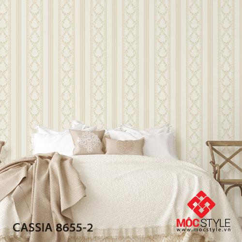Giấy dán tường Cassia 8655-2