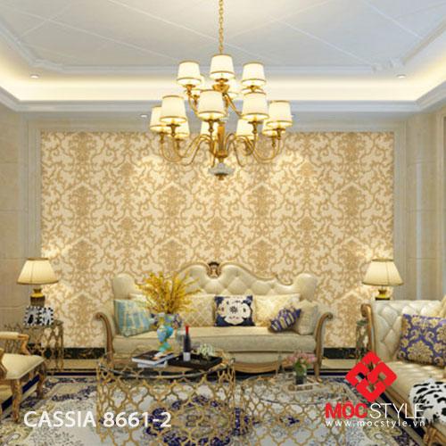 Giấy dán tường Cassia 8661-2