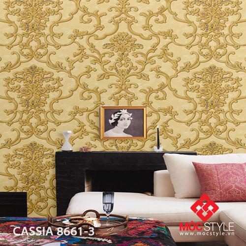 Giấy dán tường Cassia 8661-3