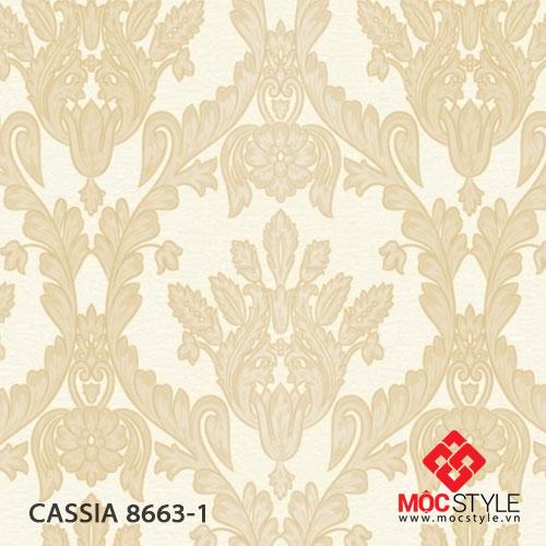 Giấy dán tường Cassia 8663-1
