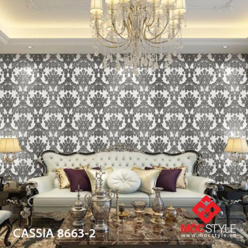 Giấy dán tường Cassia 8663-2