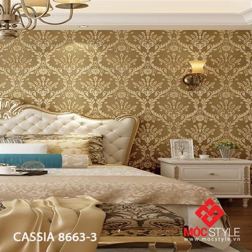 Giấy dán tường Cassia 8663-3