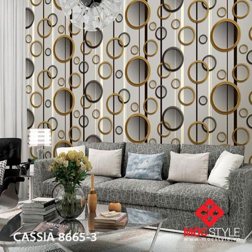 Giấy dán tường Cassia 8665-3