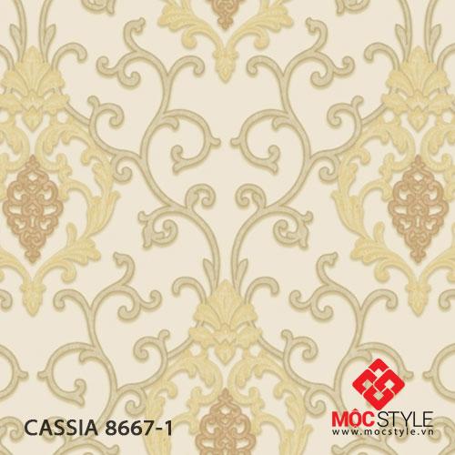 Giấy dán tường Cassia 8667-1