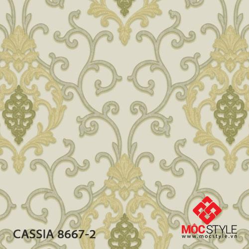 Giấy dán tường Cassia 8667-2