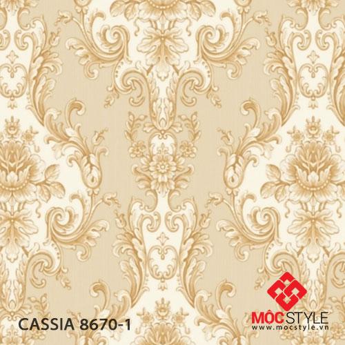 Giấy dán tường Cassia 8670-1