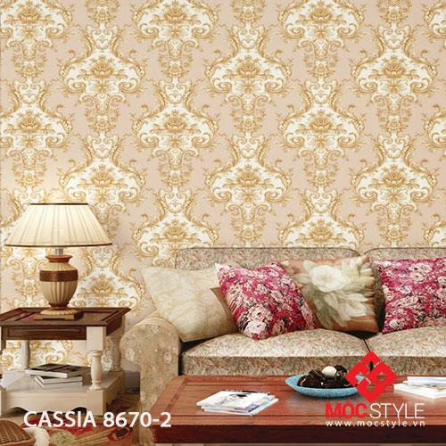Giấy dán tường Cassia 8670-2