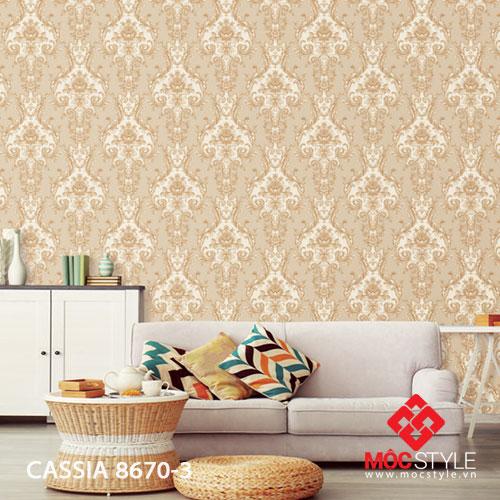 Giấy dán tường Cassia 8670-3