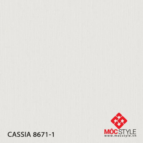 Giấy dán tường Cassia 8671-1