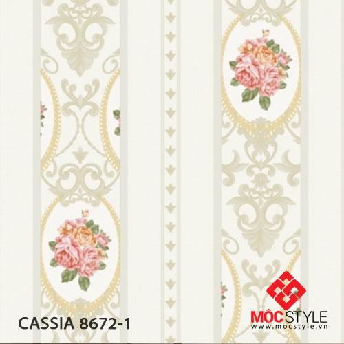 Giấy dán tường Cassia 8672-1
