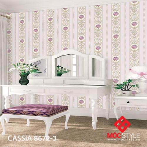 Giấy dán tường Cassia 8672-3