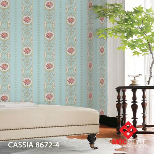 Giấy dán tường Cassia 8672-4