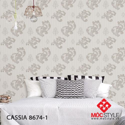 Giấy dán tường Cassia 8674-1