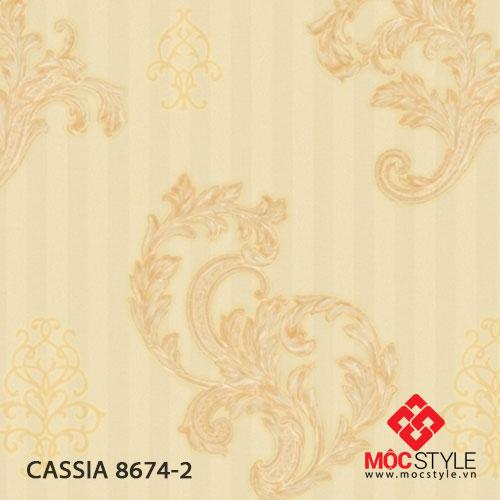 Giấy dán tường Cassia 8674-2