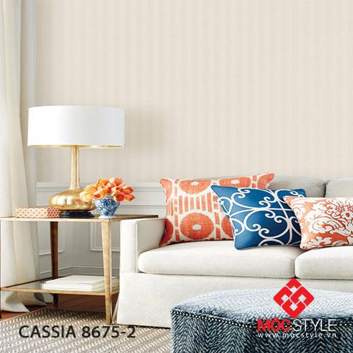 Giấy dán tường Cassia 8675-2
