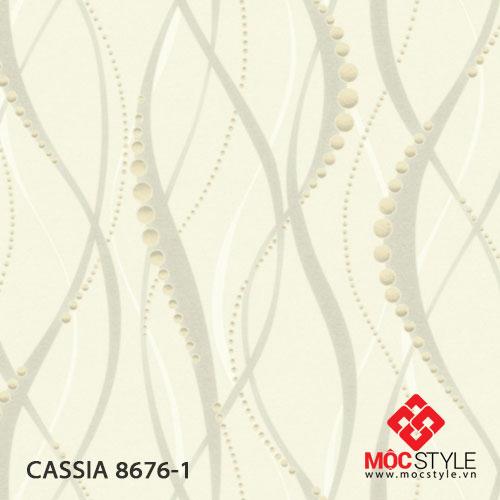 Giấy dán tường Cassia 8676-1