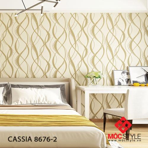 Giấy dán tường Cassia 8676-2