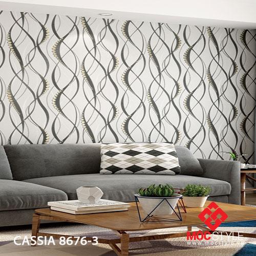 Giấy dán tường Cassia 8676-3