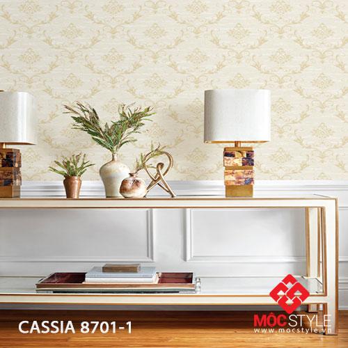 Giấy dán tường Cassia 8701-1
