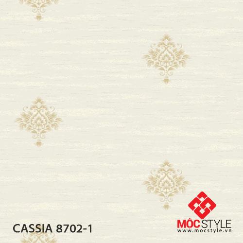 Giấy dán tường Cassia 8702-1