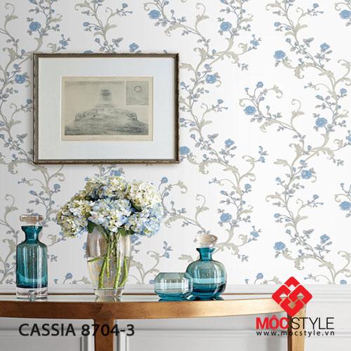 Giấy dán tường Cassia 8704-3