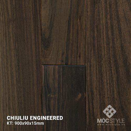 Sàn gỗ kỹ thuật Chiuliu  15x90x900