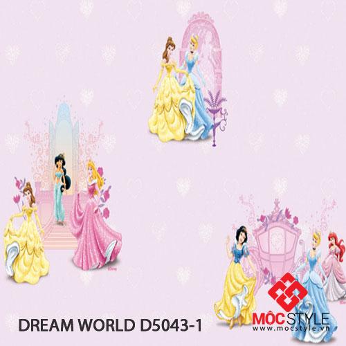Giấy dán tường Dream World D5043-1
