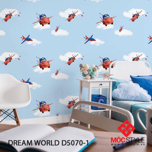 Giấy dán tường Dream World D5045-1