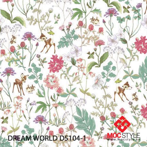 Giấy dán tường Dream World D5104-1