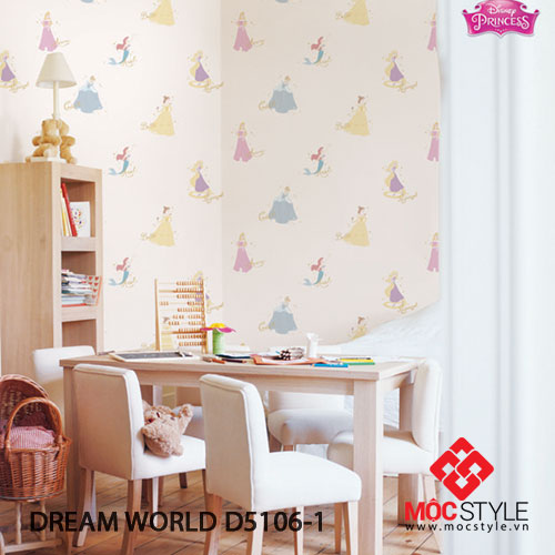 Giấy dán tường Dream World D5106-1