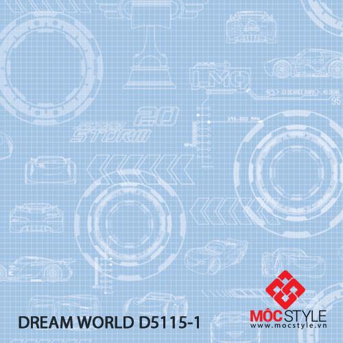 Giấy dán tường Dream World D5115-1