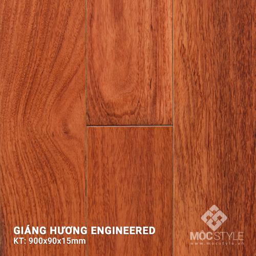 Sàn gỗ kỹ thuật Giáng Hương 15x90x900