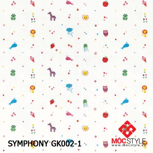 Giấy dán tường Symphony GK002-1