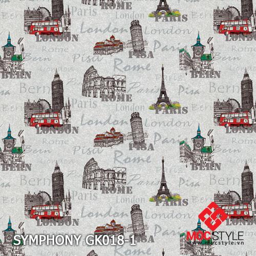 Giấy dán tường Symphony GK018-1