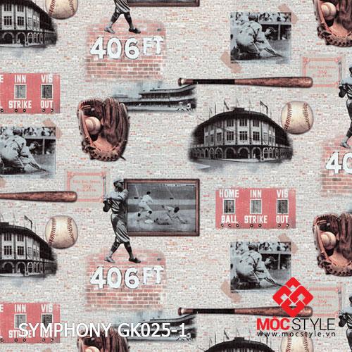 Giấy dán tường Symphony GK025-1