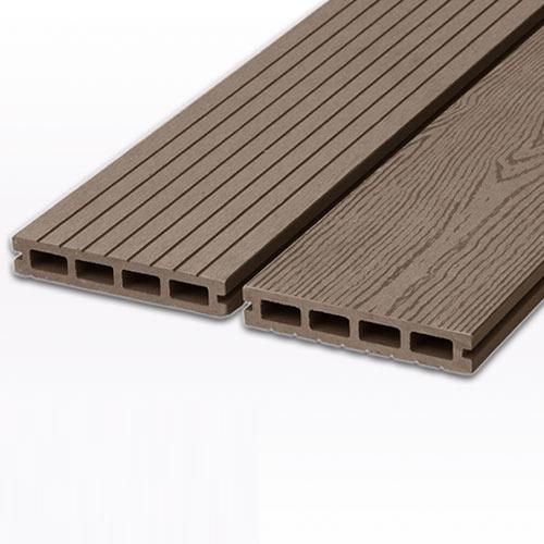 Sàn gỗ nhựa ngoài trời AWood HD140x25 - Coffee