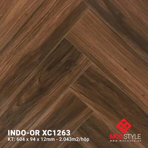 Sàn gỗ xương cá Indo-or XC1263