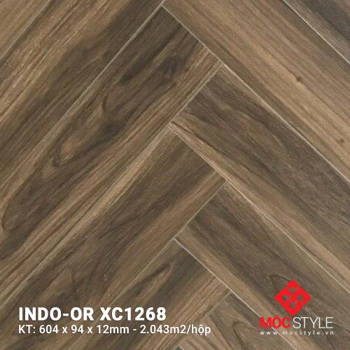 Sàn gỗ xương cá Indo-or XC1268