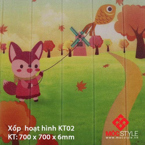 Xốp dán tường hoạt hình KT02